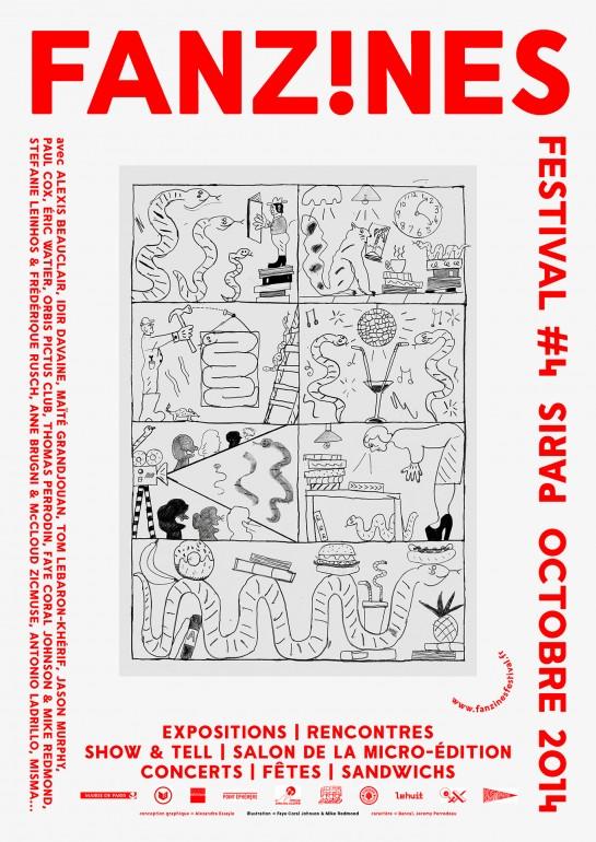 Festival FANZINES! Poster 2014